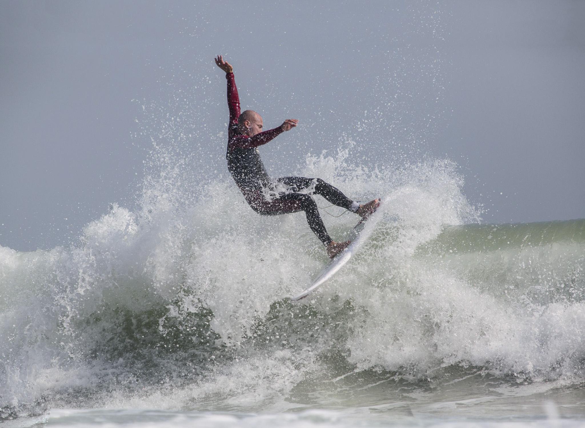 Surfing top turn Hong Kong
